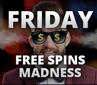 Disse casinoer har fredags free spins i august